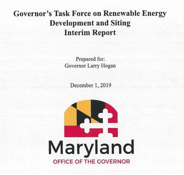 MD  solar Task-force-interim-report-Jan-2020 Aurora Energy Inc.