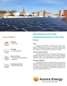 120 Q Street solar array case study