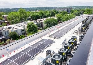 Lockwood Apartments solar array
