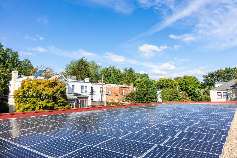 3000 Connecticut Ave solar array