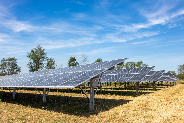 Solar for farms Maryland ground mount Aurora Energy Inc. installer
