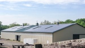 Dodon barn rooftop solar Maryland