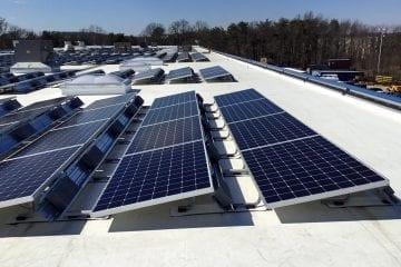 Solar rooftop decreased utility bills manufacturing facilities