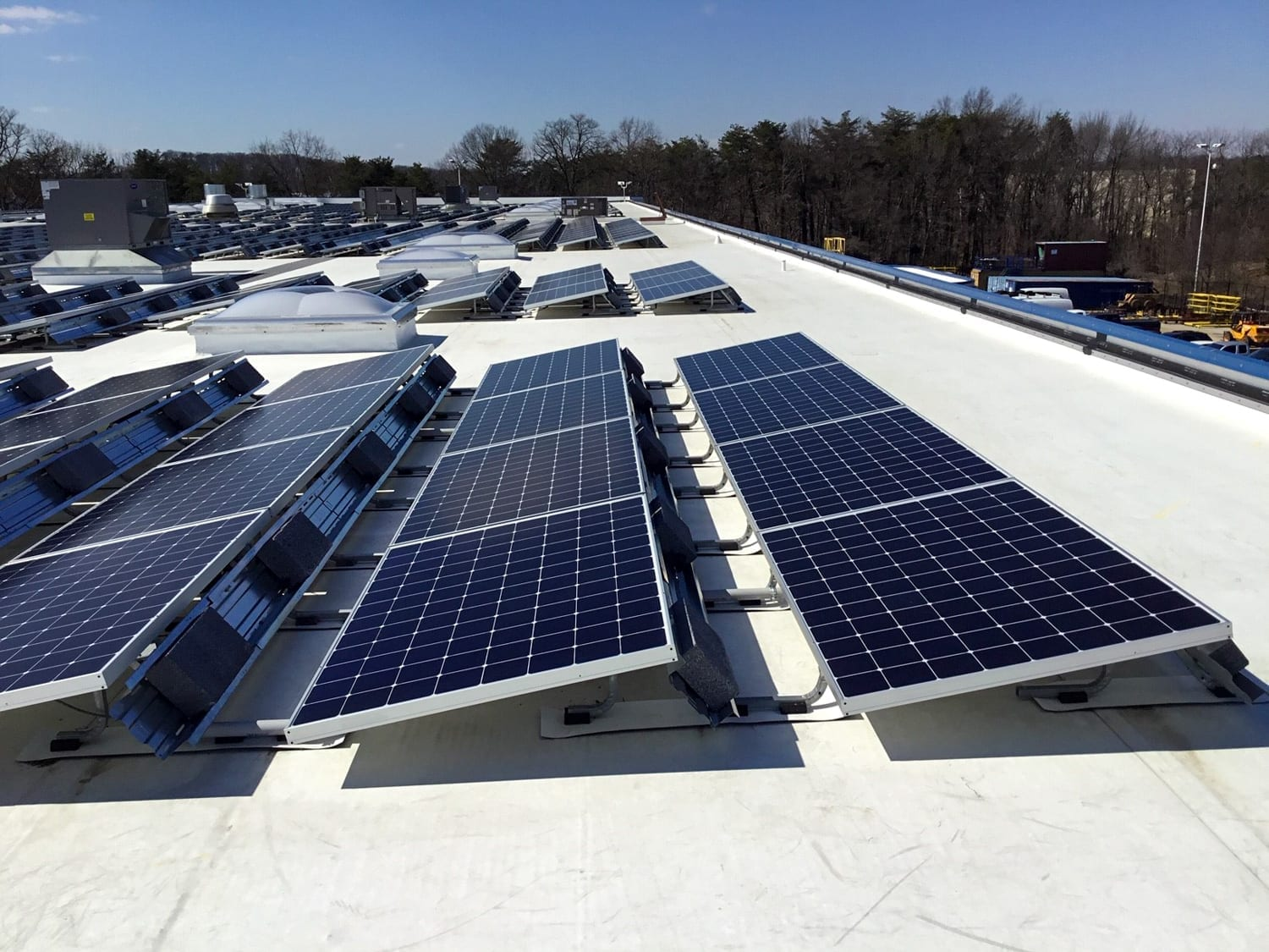 Solar rooftop decreased utility bills manufacturing facilities