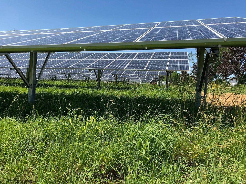 Solar farm Maryland commercial installer Aurora Energy Inc.