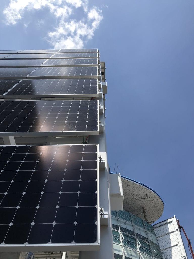 Solar wall installation Silver Spring MD