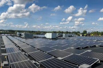commercial solar for warehouse Virginia Aurora Energy Inc.