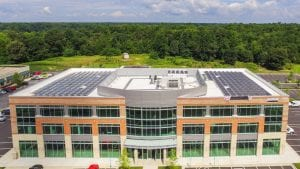 office building rooftop solar