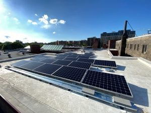 The Sheldon commercial solar array Washington DC