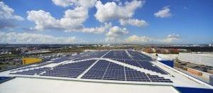 commercial solar company for warehouses aurora energy