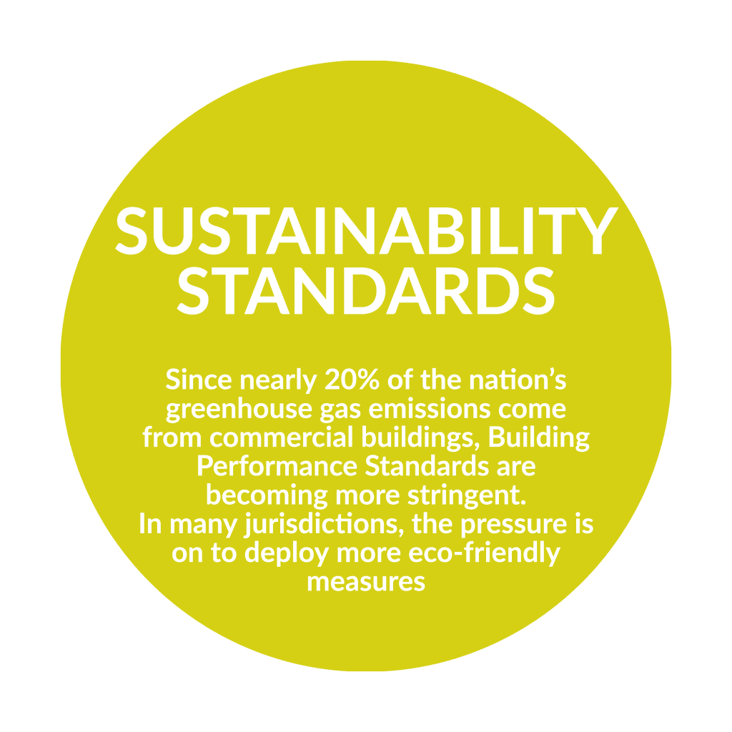 as building performance standards improve, commercial solar is a great way to achieve required performance goals
